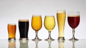 Vasos y Copas de Cerveza