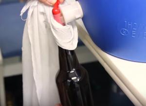 Fase de Embotellado de Cerveza