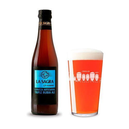 Cerveza La Sagra Triple ALE