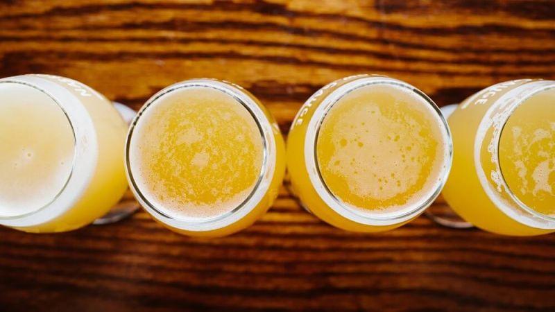 Vasos de cerveza ipa