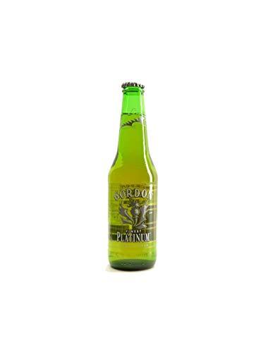 Cerveza Gordon finest Platinum 33 Cl, disponibilidad de 1 a 24 botellas