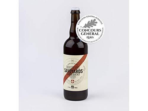 Cerveza Ambrée Orgánica Pale Ale - Especialidad de cerveza orgánica de los Alpes franceses - 0.75l