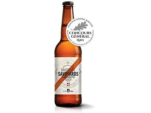 Cerveza Ambrée Orgánica Pale Ale - Especialidad de cerveza orgánica de los Alpes franceses - 0.33l