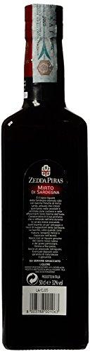 Mirto Rosso di Sardegna Italian Myrtle Liquore 32% Vol. 50cl Zedda Piras