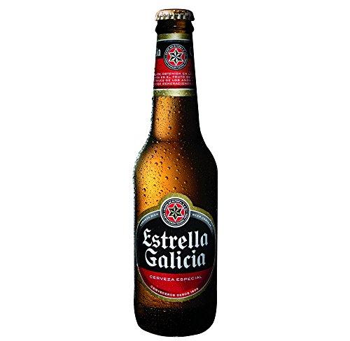 Estrella Cerveza Drubia Galicia Botella 4,7º - Paquete de 24 x 330 ml - Total: 7920 ml
