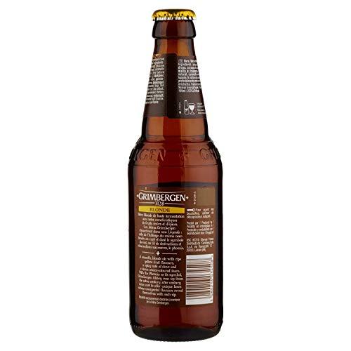 GRIMBERGEN cerveza rubia belga botella 33 cl