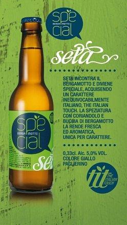 BIRRIFICIO RURALE - SETA SPECIAL Cerveza artesanal italiana (33 cl)
