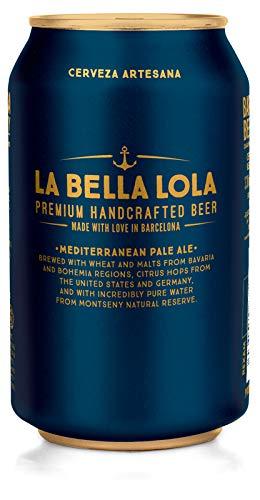 Cerveza La Bella Lola Lata 330ml - [Pack x12]