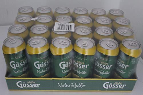 24 latas de 0,5 l Gösser Natur Radler Limón 2,0% vol. alc.