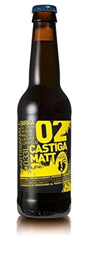 BIRRIFICIO RURALE - CASTIGAMATT Cerveza artesanal italiana (33 cl) - Confezione da 6 Bott.