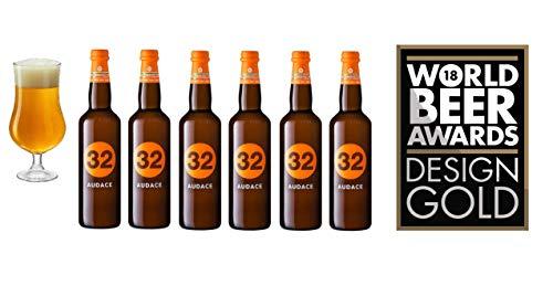 32 Via dei Birrai AUDACE Cerveza Artesanal Italiana [ 6 BOTELLAS x 750ml ]