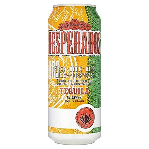 Desperados Sabor de Tequila Beer 4 x 500 ml (Pack de 24 x 500 ml)