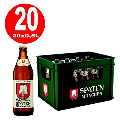 20 x Spaten espadas Munich light 0.5 L - 5.2% alcohol Caja original