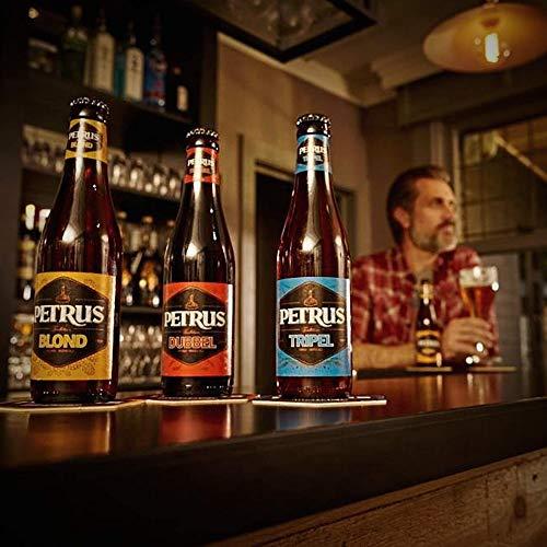 Pack Petrus Tradition. Incluye 2 unidades de cada estilo + 1 copa de cristal. De la prestigiosa cervecera Brouwerij de Brabandere.