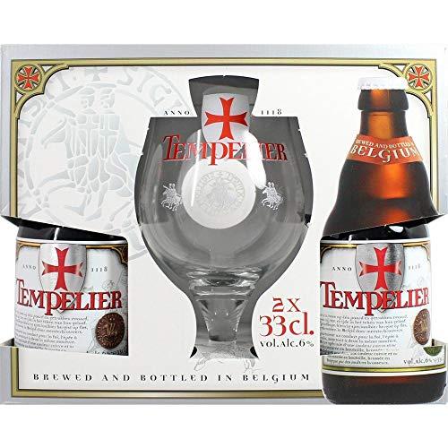 Corsendonk - Estuche Tempelier 2*33Cl + Vaso